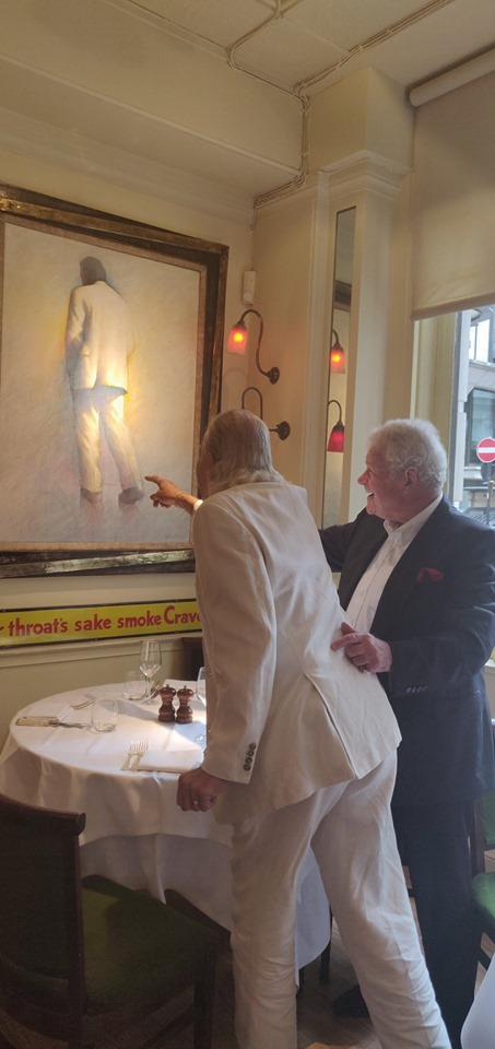 Andy Owen at Peter langan's.